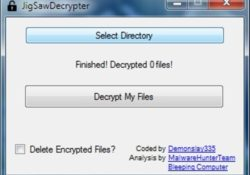 CryptoHitman Ransomware Decryption Tool