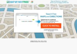 Remove Mapmywayfree Toolbar